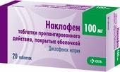 KRKA Naklofen, 100 mg, 20 tab.