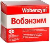 Mucos Wobenzym, 200 tablets