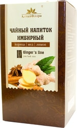 AltaiFlora Ginger with cinnamon, honey and lemon, 20 pack. 1.5 g each