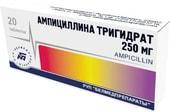 Belmedpreparations Ampicillin Trihydrate, 250 mg, 20 tab.