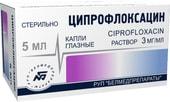 Belmedpreparations Ciprofloxacin drops, 3 mg / ml, 5 ml.