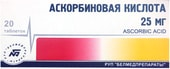 Belmedpreparations Ascorbic Acid, 25 mg, 20 tab.