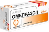 Lekpharm Omeprazole, 20 mg, 30 caps.