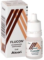 Alcon Flucon Drops, 0.1% mg, 5 ml.