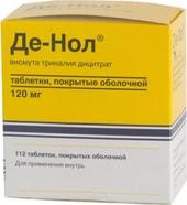 Astellas De Nol, 120 mg, 112 tablets
