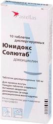 Astellas Unidox Solutab, 100 mg, 10 tab.
