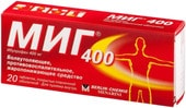 Berlin-Chemie Menarini Mig, 400 mg, 20 tab.