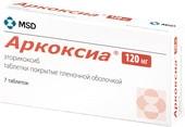 MSD Arcoxia, 120 mg, 7 tab.