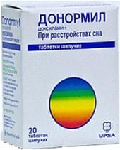 UPSA Donormil, 15 mg, 20 tab.