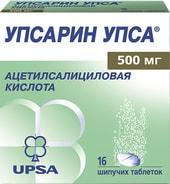 UPSA Uppsarin Upsa, 500 mg, 16 spike. tab.