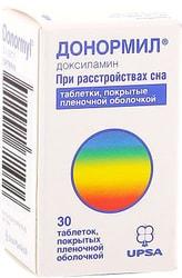 UPSA Donormil, 15 mg, 30 tab.