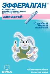 UPSA Efferalgan Solution, 30 mg / ml, 90 ml.
