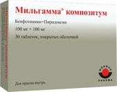 Worwag Pharma Milgamma Composite, 30 tablets